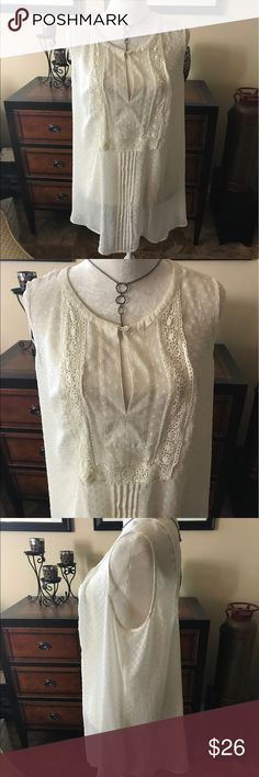 Daniel Rainn XXL  2XL sleeve less tunic ⭐️🌞 This lovely sleeveless tunic by Daniel Rainn is in like new condition. It is very flattering and goes with many things. Please check out my closet for other brand names. Offers welcome. Bundle and save! Happy polishing😊⭐️ Daniel Rainn Tops Tunics