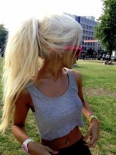 Fluffy Ponytail