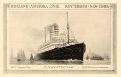 SS Rotterdam 1908 | File:SS Rotterdam IV(1908).jpg - Wikimedia Commons