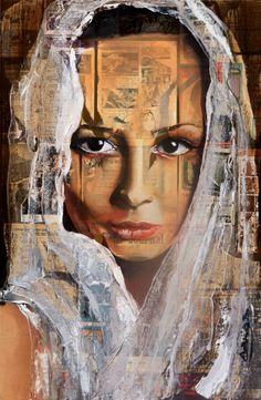 Tania B La mariée 120 x100 cm