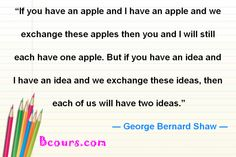 Bcours0 You And I, Best Quotes, Education, You And Me, Best Quotes Ever, Onderwijs, Learning