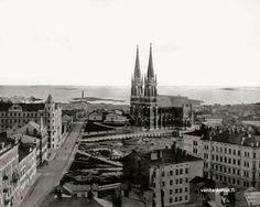 I.K.Inha: Helsinki, Johanneksen kirkko 1890-luvulla