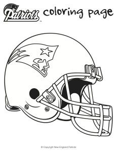 football coloring sheets for kids charlene chronicles - Football Color Sheet