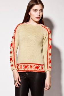 Vintage 70s Nordic Wool Ski Sweater http://thriftedandmodern.com/vintage-70s-nordic-wool-sweater