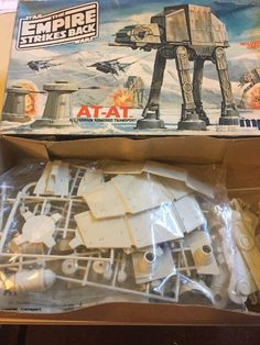 VTG MPC Star Wars The Empire Strikes Back AT-AT Model Kit 1981 Never Started #MPC