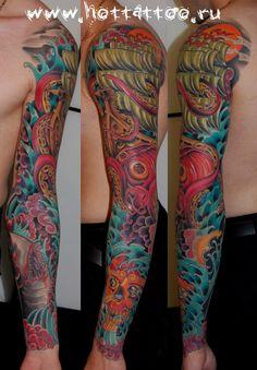 Arm Tattoos, Sleeve Tattoos, Tattoo Photos, Tattoos For Guys, Sleeves, Tattoo Sleeves, Tattoos For Men, Arm Tattoo, Hand Tattoos