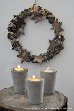 tales of love and chocolate: A simple wreath