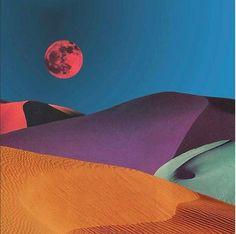 Desert Dream Art Print by leafandpetal Whats Wallpaper, Framed Art Prints, Canvas Prints, Pin Up, Alternate Worlds, Desert Dream, Desert Rose, Retro Futuristic, Collage Artists