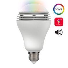 Transformez votre salon en dance floor avec cette ampoule son et lumières, créez vos ambiances festives ou zen en diffusants vos différentes playlists et les jeux de lumières incroyable de la playbulb color  ziiot-ampoule-connectee-playbulb-color-mipow-2