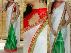 #indian #wedding #fashion #style #women #sari #saree #blouse #design #dress