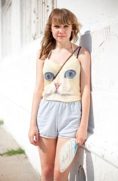 Ridiculously amazing cat shirt.