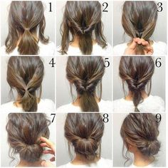Easy teacher hair looks!
