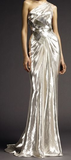 Lovely gown!  Versace