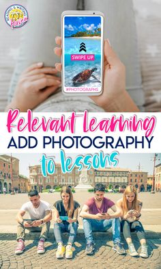 Use photography in the classroom to inspire visual learning and make lessons relevant #HighSchool #MiddleSchool #VisualLessons Brain Based Learning, Visual Learning, Ela Classroom, English Classroom, Teaching Materials, Teaching Resources, English Language, Language Arts, Ap Language And Composition