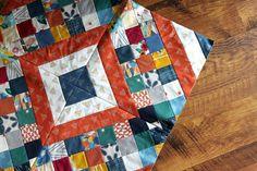 Maureen Cracknell Handmade: Craftsy Class : Criss Cross Diamond Quilt!