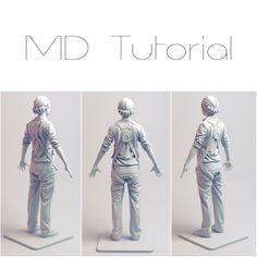 Marvelous Designer Tutorial (Easy), Madina Chionidi