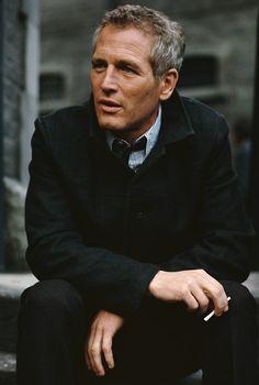 handsome man Paul Newman