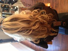 #hairbyalisha #salonellelajolla #blondehair #highlights #longhair #curls #sandiego #lajolla #hairsalons