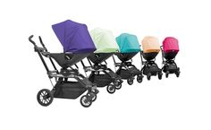 Ooh, they look like vintage baby carriages! And the colors! Meet the Newest Stroller on the Block: the Orbit Baby
