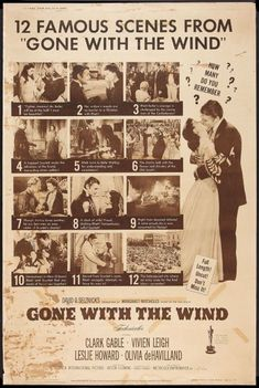 Gone with the Wind (MGM, Poster X Academy Award Winners. Starring Clark Gable, - Available at Sunday Internet Movie Poster. Go To Movies, Old Movies, Great Movies, Wind Movie, Margaret Mitchell, Old Movie Posters, Cinema, Tomorrow Is Another Day, Scarlett O'hara