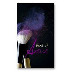 MakeUp Artist , Cosmetologist, Beauty, Salon Business Card Templates