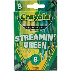 Crayola Meltdown Crayons 8/Pkg-Streamin Green Crayola http://www.amazon.com/dp/B00OY0S2VQ/ref=cm_sw_r_pi_dp_6fAMvb0DTK151