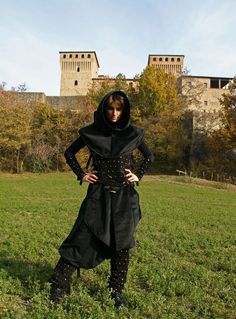 MADE TO ORDER  rogue outfit unisex  Fantasy Stempunk Castle