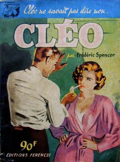 Les Romans Americains # 54 - Cleo - Frederic Spencer - 1956 - Editions Ferenczi