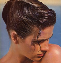 a-state-of-bliss: Gia Carangi by Andrea Blanch