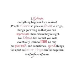 quotes / Marilyn Monroe ❤ liked on Polyvore