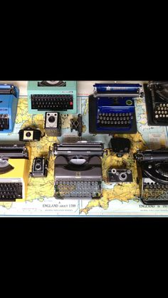 """Portable Typewriters for sale - """"Charlie Foxtrot """" on line shop."""