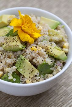 Quinoa Corn  Avo Salad Recipe