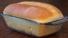 """Tupperware Bread - This """"No Knead"""" bread can be made into loaves or rolls. Sandwich Bread Recipes, Bread Machine Recipes, Croissant Sandwich, Homemade Sandwich, Bread Bun, Bread Rolls, Easy Bread, Basic Bread Recipe, Ma Baker"""