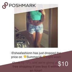 Free shipping  ✨ Hurry❗️✨ Ends in an hour Wet Seal Shorts Jean Shorts