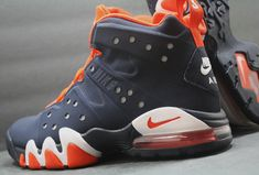 Nike Air Max Barkley HOH - Obsidian/Team Orange-White