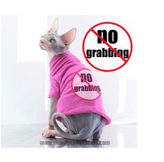 Cat Clothes No Grabbing charming T-Shirt soft and by SimplySphynx