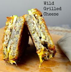 Goat Cheese, Gouda and Wild Mushroom Grilled Cheese