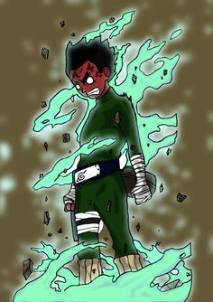Rock Lee (ロック・リー, Rokku Rī) is a major supporting character of the series. He is a chūnin-level shinobi of Konohagakure and a member of Team Guy. Naruto Uzumaki, Naruto Art, Gaara, Anime Naruto, Boruto, Manga Anime, Hinata, Rock Lee Naruto, Susanoo