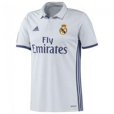 Real Madrid Home Shirt 2016 2017 - Discount Football Shirts, Cheap Soccer Jerseys Adidas Real Madrid, Real Madrid Shirt, Best Football Team, Football Shirts, Soccer Jerseys, Cristiano Ronaldo Trikot, Sports Jersey Design, Shirt Shop, T Shirt