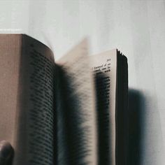 The smell of books is so relaxing