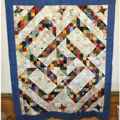 """This #splitninepatch quilt love is coming from Ramona who was on retreat with me in Texas earlier in the month! She writes: """"Bonnie, Here is my rendition of the Split 9 Patch. I've struggled to make it """"not square"""" and I think it turned out pretty good . It measures 63"""" x 75"""", which is a perfect cuddle up size. The bonus for me is I finally got to use some 10 year old fabric for the border. Happy happy me. """" i love it, Ramona! The free pattern for split nine patch is available under ..."""