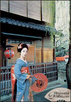 Maiko - 1960's by Naomi no Kimono Asobi, via Flickr