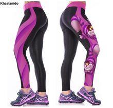 361d62b136 High Waist Workout Leggings 3d Print Skull Legging Push Up Breathable Spandex  Fitness Clothing Sporting Leggins Women Pants