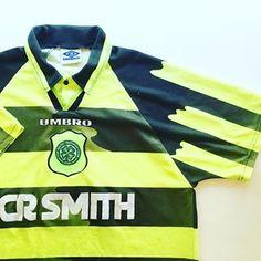 "47147349 Iconic Kits on Instagram: ""Celtic Away 96/97 Link in bio #celtic #celticfc  #spl #spfl #scotland #scottishfootball #umbro #umbrofootball #football ..."