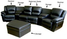 How to Choose the Perfect Home Theater Seating - http://freshome.com/2010/10/05/how-to-choose-the-perfect-home-theater-seating/