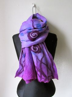 Nuno Felted Scarf  S