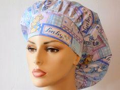 Scrub Hats Baby Oh Baby Womens Bouffant Scrub Hats by SilverCaps