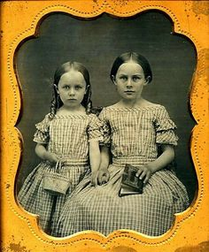 Don't worry, sister, we'll get through this together. 1850s.