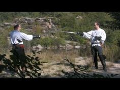 AoC Fight Director Jared Kirby demos Western Martial Arts for Film