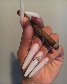 Installation of acrylic or gel nails - My Nails Cute Nails, Pretty Nails, Hair And Nails, My Nails, Diy Nails Stickers, Nail Tape, How To Clean Makeup Brushes, Nail Inspo, Natural Nails